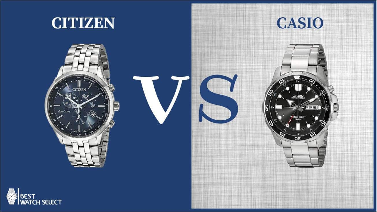 Casio vs Citizen