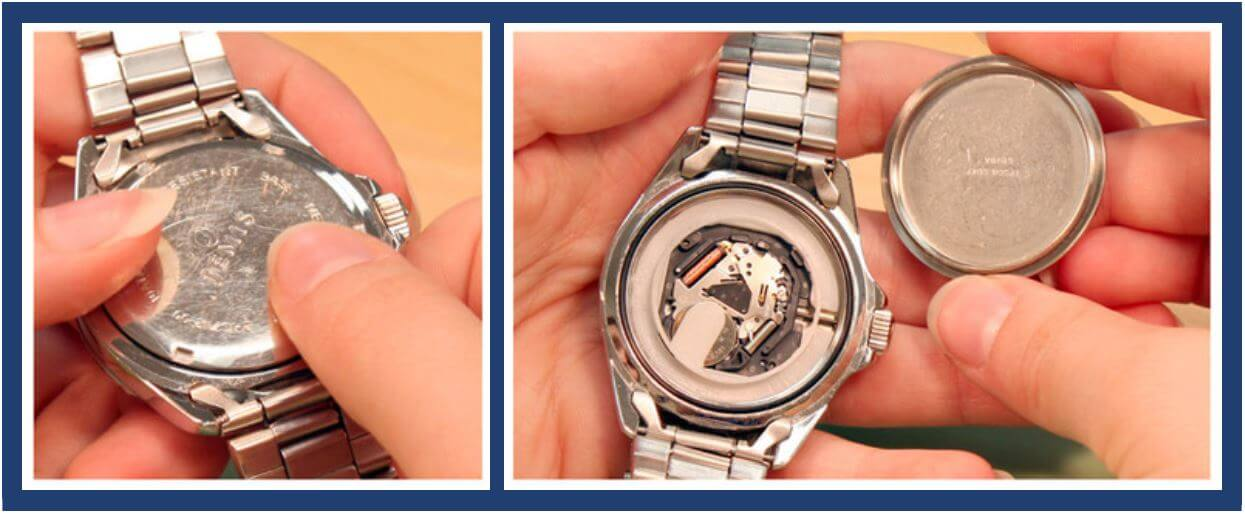 How to Open a Watch Back Without Notches