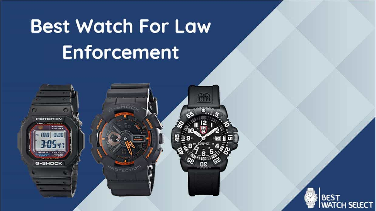 best watches for police officers