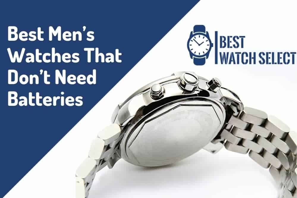 watches that don't need batteries